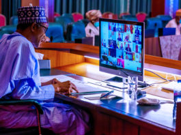 President Buhari participates at the United Nations Virtual